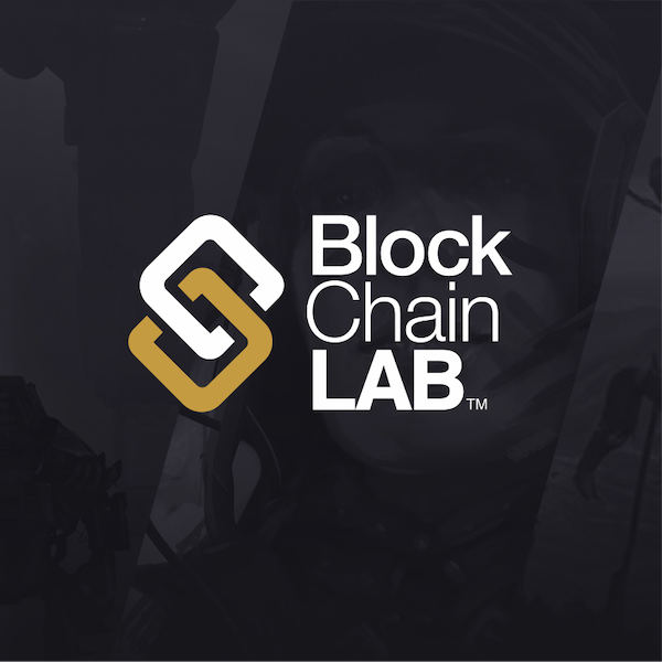 Block Chain LAB logo created by DIGITAL LEADERS